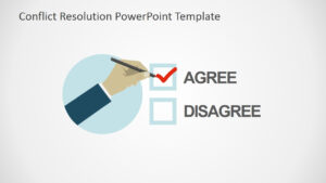 Conflict Resolution Powerpoint Template with Powerpoint Template Resolution