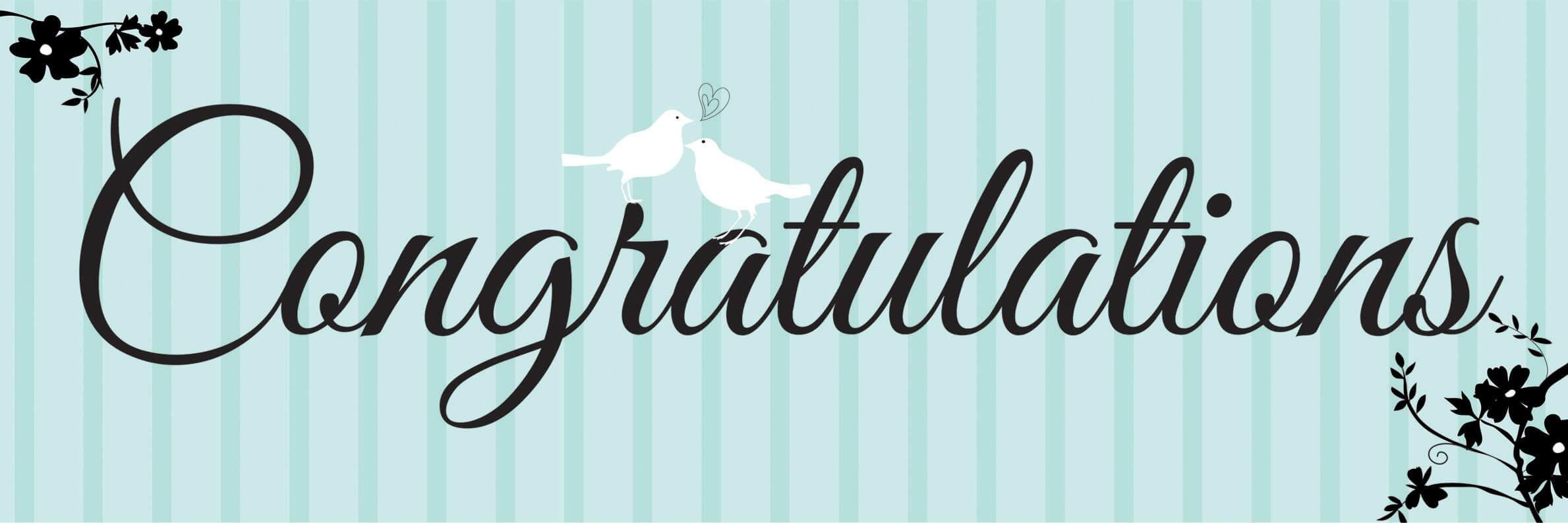 Congratulations Banner Template | Birthday Card Printable Throughout Congratulations Banner Template