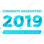 Congratulations Graduates Vector Logo. Graduation Background.. Within Graduation Banner Template