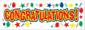 Congratulations Pictures Free Download Banner Design within Congratulations Banner Template