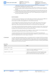 Construction Audit Report Sample: For Safety, Quality inside Waste Management Report Template