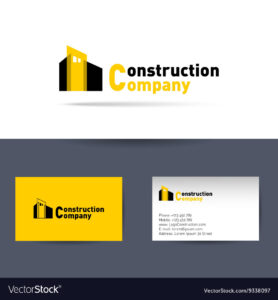 Construction Company Business Card Template For Construction Business Card Templates Download Free