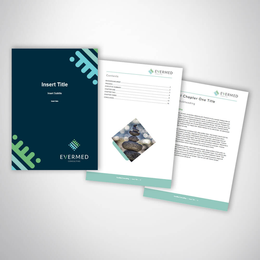Consulting Business Report Template Design In Microsoft Word With Microsoft Word Templates Reports