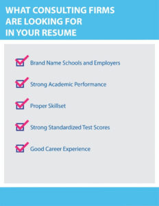 Consulting Resume Template & Tips To Writing The Perfect within Mckinsey Consulting Report Template