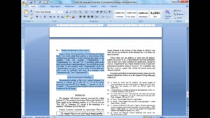 Convert A Paper Into Ieee - Quick Conversion Guide with regard to Ieee Template Word 2007