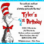 Cool Create Easy Dr Seuss Birthday Invitations   Invitations Regarding Dr Seuss Birthday Card Template