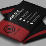 Cool Creative Business Card + Psd – Photoshop Tutorial Intended For Visiting Card Templates For Photoshop