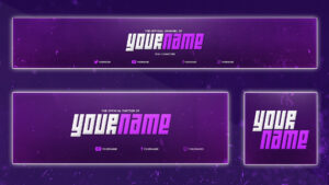 Cool Youtube Banner Template | Banner, Twitter Header throughout Twitter Banner Template Psd