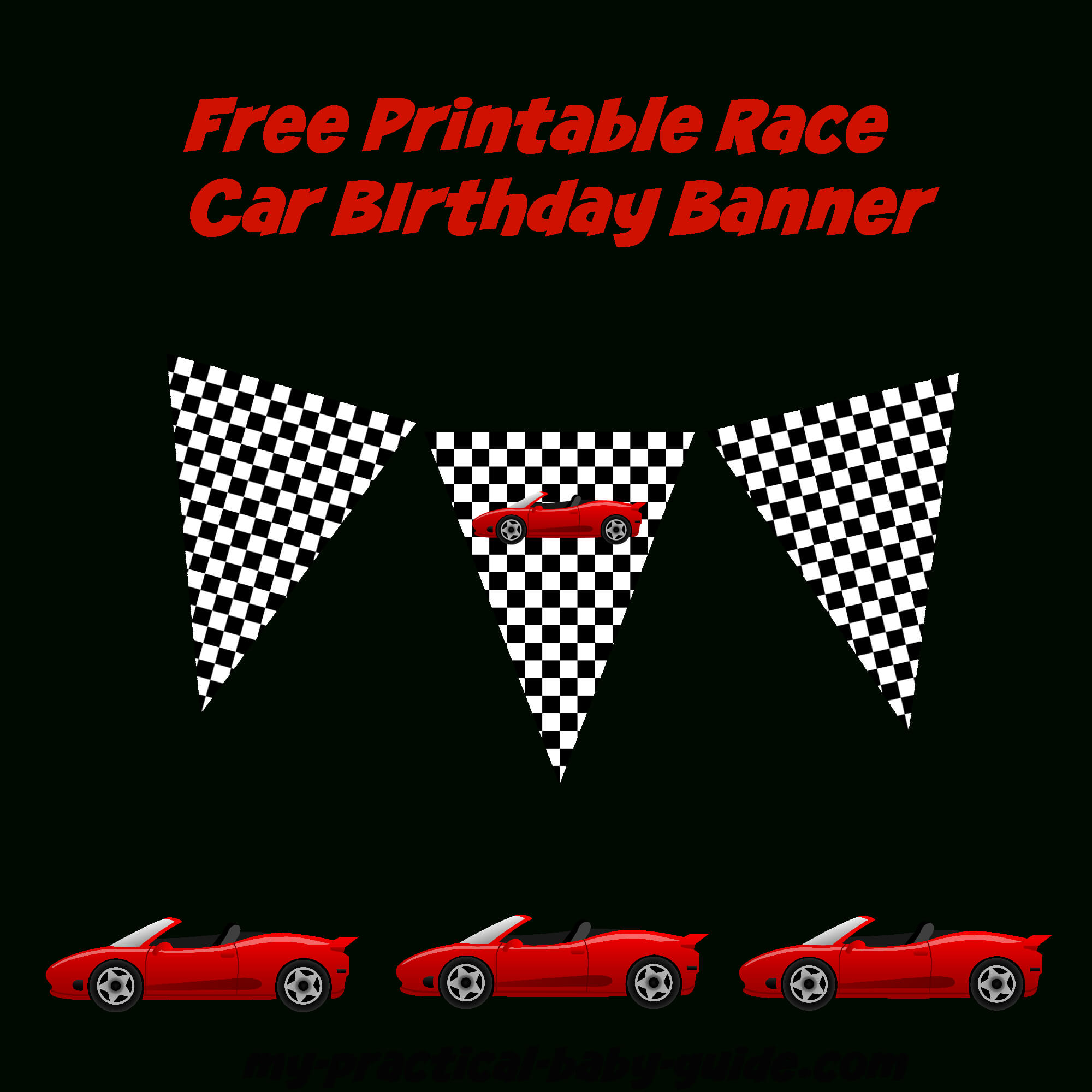 Coolest Car Birthday Ideas – My Practical Birthday Guide With Regard To Cars Birthday Banner Template