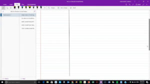 Copy Of Cornell Note Set-Up In Onenote throughout Cornell Note Template Word