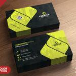 Corporate Business Card Design Psd – Psd Zone Throughout Name Card Design Template Psd