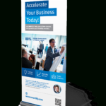 Corporate Business Roll Up Banners Template For Download Regarding Pop Up Banner Design Template