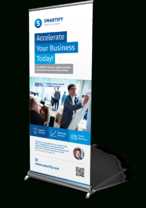 Corporate Business Roll-Up Banners Template For Download regarding Pop Up Banner Design Template