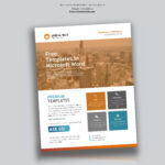 Corporate Flyer Design In Microsoft Word Free – Used To Tech In Templates For Flyers In Word