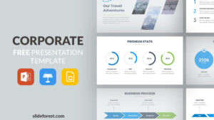 Corporate Free Powerpoint Template pertaining to Powerpoint Slides Design Templates For Free