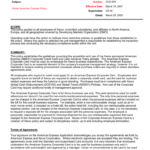Corporate Functional Guide Template Inside Corporate Credit Card Agreement Template