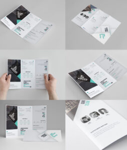 Corporate Tri-Fold Brochure Template Free Psd – Download Psd throughout 3 Fold Brochure Template Psd Free Download