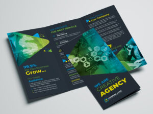 Corporate Trifold Brochure Templatezahid Hossain Alif On pertaining to Membership Brochure Template