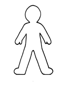 Counseling Tools | The School Counselor Kind – Clipart Best for Blank Body Map Template