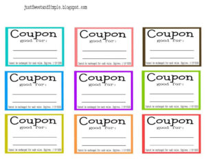 Coupon Template Word | Template | Mother's Day Coupons In Blank Coupon Template Printable