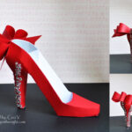 Crafting In The Night: 3D High Heel Shoe – Svgcuts | 3D With Regard To High Heel Shoe Template For Card