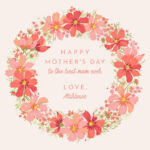 Create A Meaningful Mother's Day Card – Befunky Blog Throughout Mothers Day Card Templates