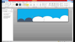 Create Banner Using Ms Word Inside Banner Template Word 2010