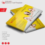 Create Business Card Template Photoshop With Bleed Design With Regard To Photoshop Business Card Template With Bleed