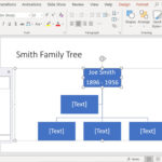Create Family Trees Using Powerpoint Organization Chart Within Powerpoint Genealogy Template