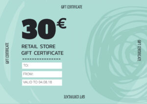 Create Personalized Gift Certificate Templates & Vouchers with regard to Indesign Gift Certificate Template