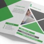 Creating A Bi Fold Brochure Mockup In Adobe Photoshop Regarding Two Fold Brochure Template Psd