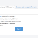 Creating Html Reports   Dradis Pro Help For Html Report Template
