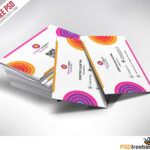 Creative And Colorful Business Card Free Psd | Psdfreebies Regarding Creative Business Card Templates Psd