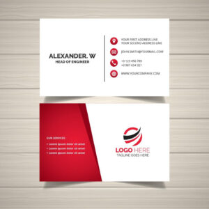 Creative Business Card Design | Business Card Templates inside Calling Card Free Template