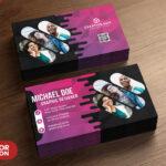 Creative Business Card Psd Templates – Psd Zone Intended For Creative Business Card Templates Psd