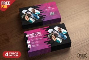 Creative Business Card Psd Templates – Psd Zone intended for Creative Business Card Templates Psd