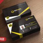 Creative Business Card Template Psd – Psd Zone For Creative Business Card Templates Psd