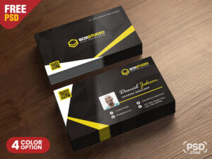 Creative Business Card Template Psd – Psd Zone for Creative Business Card Templates Psd