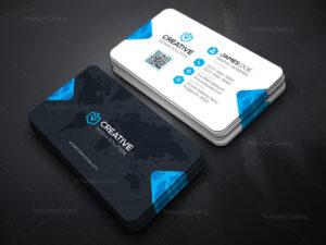 Creative Company Business Card Template 000036 intended for Company Business Cards Templates