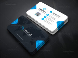 Creative Company Business Card Template 000036 – Template inside Web Design Business Cards Templates