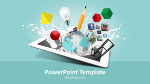 Creative Design Powerpoint Template for Multimedia Powerpoint Templates