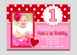 Creative First Birthday Invitations – Letter.bestkitchenview.co intended for First Birthday Invitation Card Template