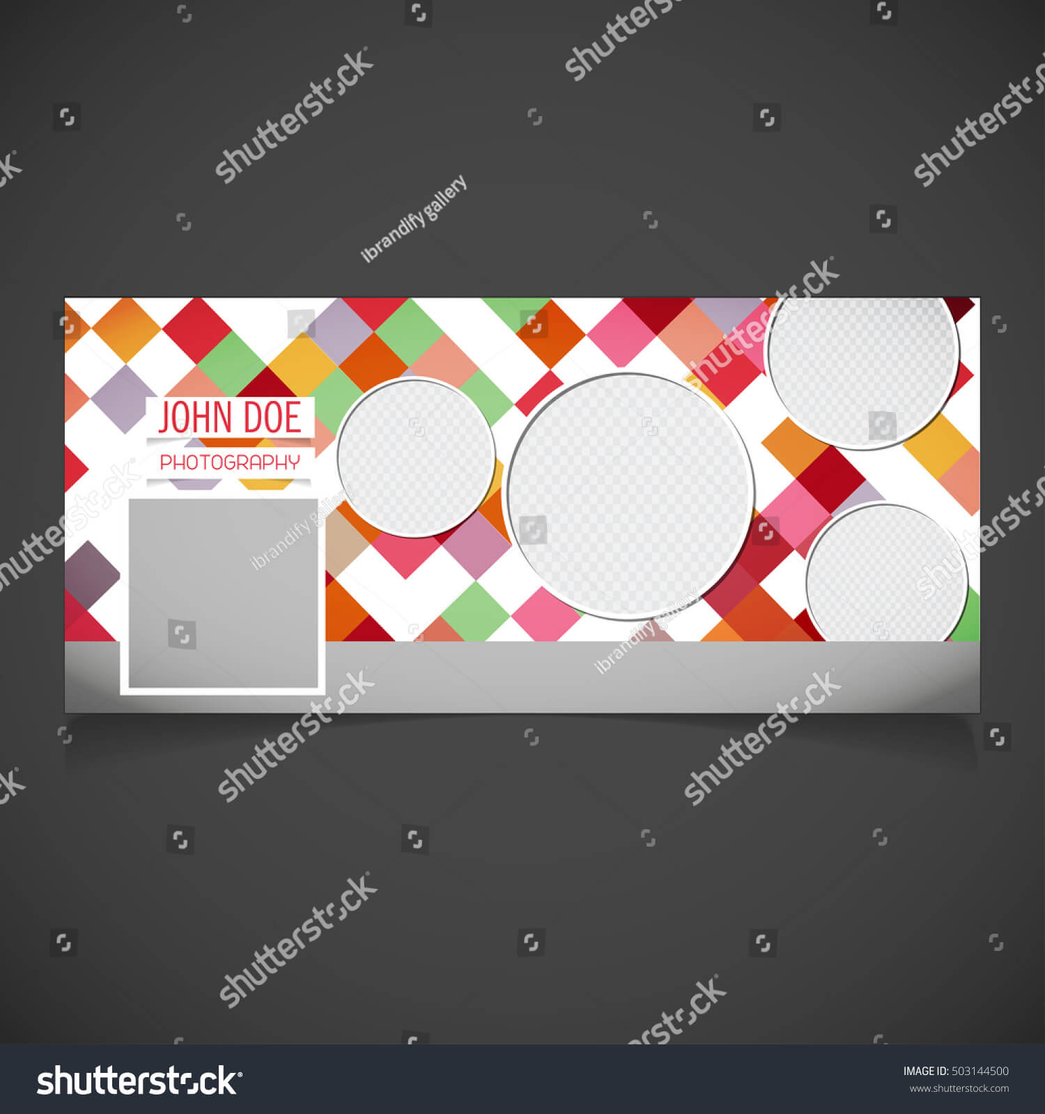 Creative Photography Banner Template Place Image Stock With Regard To Photography Banner Template
