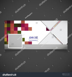 Creative Photography Banner Template Place Image Stock within Photography Banner Template