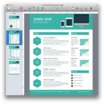 Creative Resume Template For Business Card Template Pages Mac