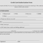 Credit Card Authorization Form Templates [Download] – Credit Intended For Credit Card Billing Authorization Form Template