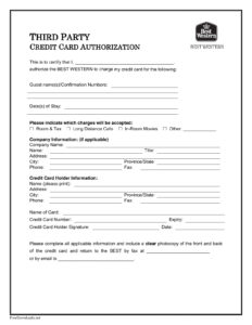 Credit Card Authorization Forms – Cnbam with Authorization To Charge Credit Card Template