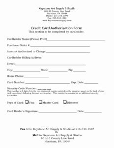 Credit Card Payment Form Federal Circuit Court Of Australia with regard to Credit Card Billing Authorization Form Template