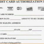 Credit Card Payment Form Pdf Template Australia With Credit Card Payment Form Template Pdf