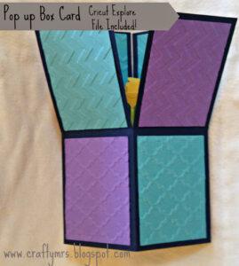 Cricut Explore {Pop Up Box Card} A2 Sized With Design Space regarding A2 Card Template